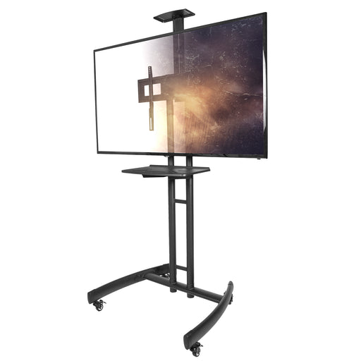 Kanto MTM55PL-S Mobile TV Mount with Adjustable Steel Tray for 32-inch to 55-inch TVs - V&L Canada