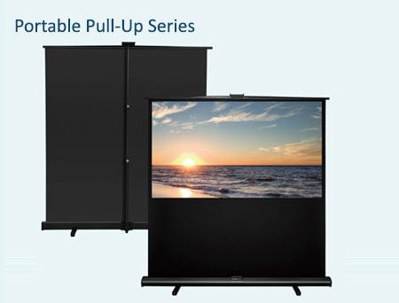 "Grandview 60"" Diagonal Pull Up Projector Screen, 4:3 (CB-UX60)"