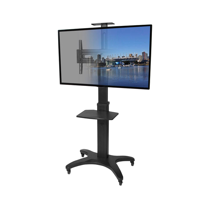 Kanto MTMA55PL Mobile TV Mount with Adjustable Shelf for 32-inch to 55-inch TVs - V&L Canada