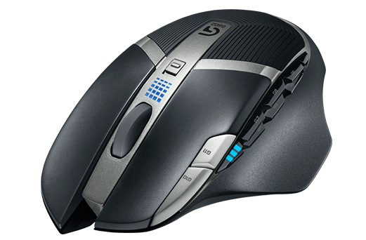 Logitech G602 Black 11 Buttons 1 x Wheel USB RF Wireless Optical 2500 dpi Gaming Mouse - V&L Canada
