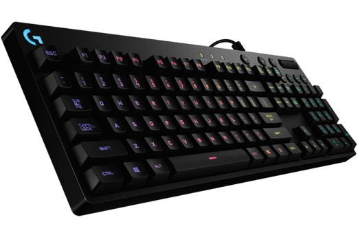 Logitech G810 Orion Spectrum RGB Mechanical Gaming Keyboard With ROMER-G Mechanical Switches - V&L Canada