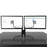 Kanto DMS2000 Dual-Monitor Desktop Mount for 17-inch to 32-inch Displays - Black or Silver - V&L Canada