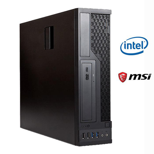 Business PC BX621 V2 System Core with Intel i5-9400 8GB RAM, 240GB SSD, DVD-RW, Windows 10 Pro