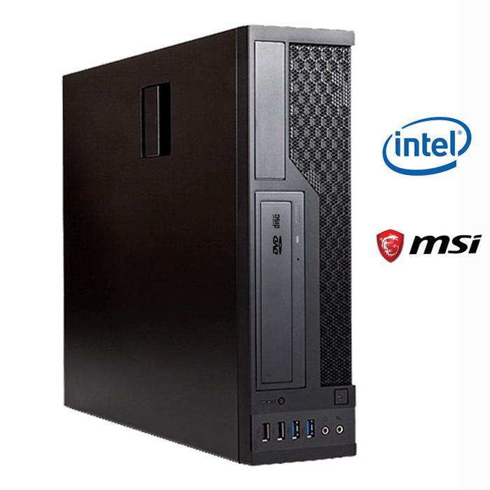 Business PC BX620 V2 System Core with Intel i5-9400 8GB RAM, 240GB SSD, DVD-RW, Windows 10 Pro