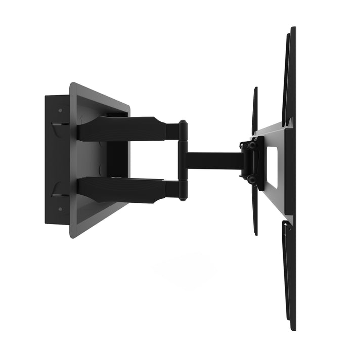 Kanto R300 Recessed In-Wall Full Motion TV Mount for 32-inch to 55-inch TVs - V&L Canada