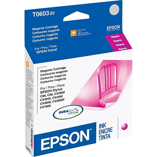 3PK Epson T060320 Ink Cartridge Magenta (T060320-SK2)
