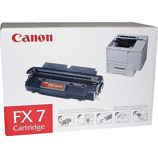 Canon FX7 Black Toner Cartridge - 4500 pages - FX7 - LC710 / LC720 / LC  (7621A001AA)