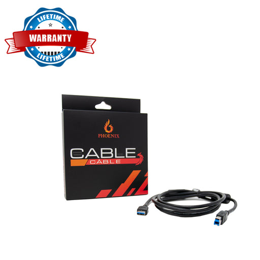 Phoenix Cable 6 feet USB 3.0 AM to BM Cable