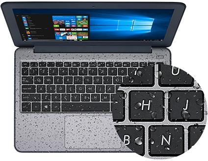 Asus Notebook W202NA-YS02 11.6 inch Celeron N3350 4GB 64GB Intel HD Windows 10S Retail - V&L Canada