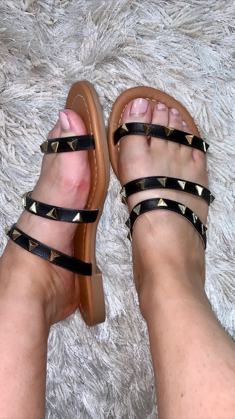 I Want To Rock Stud Sandals