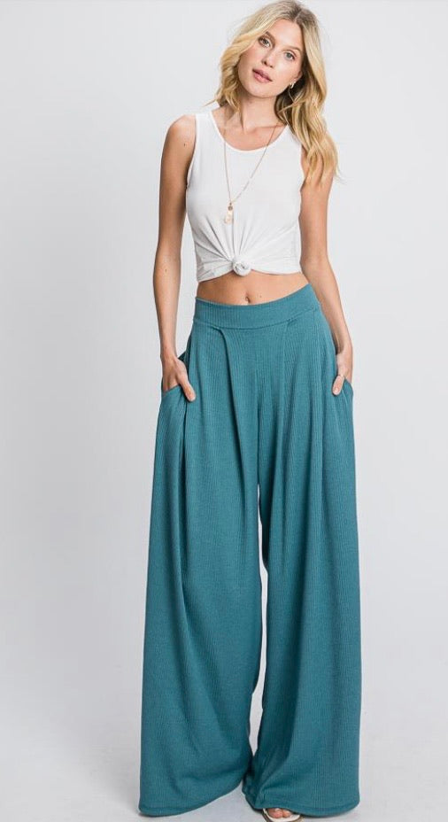 Headed to Brunch Wide Leg Pants