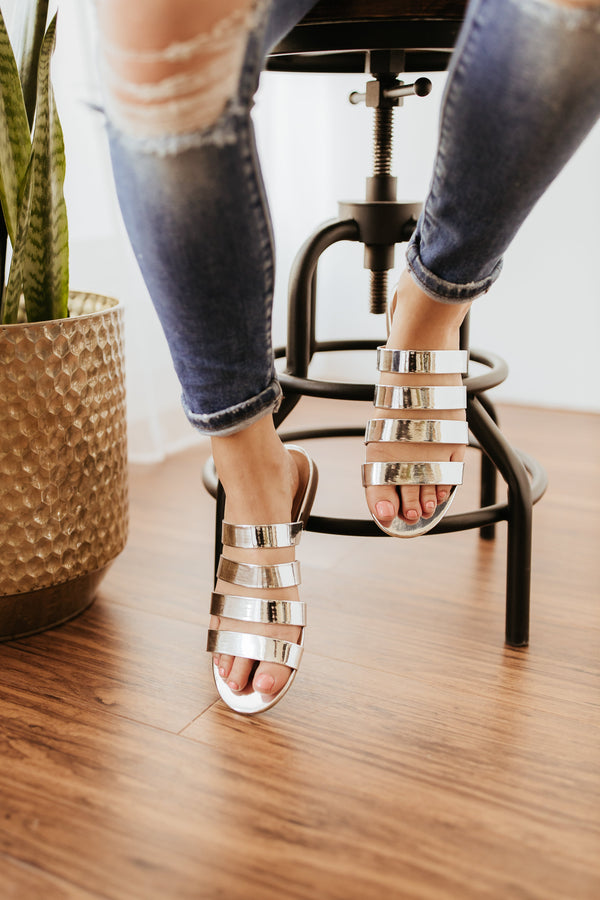 Matisse Perry Sandal in Silver