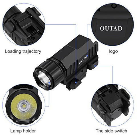 Tactical Pistol Flash/Tack Light - US Tactical Warehouse