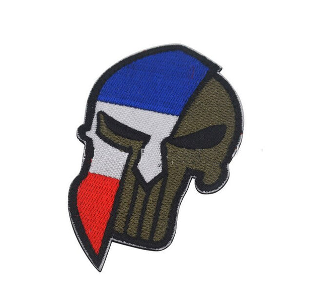 Punisher Badge Military Patches - US Tactical Warehouse