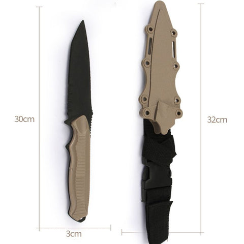Tactical Rubber Military Knife - US Tactical Warehouse