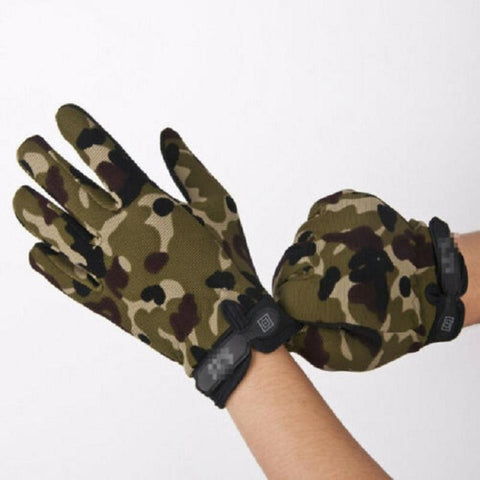 Camouflage Windproof Anti-Slip Gloove - US Tactical Warehouse