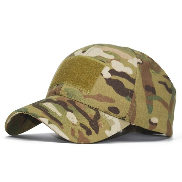 Snapback Stripe Military Cap - US Tactical Warehouse