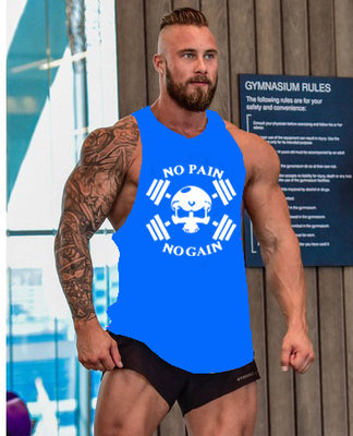 Men's Tank Top No Pain No Gain - US Tactical Warehouse