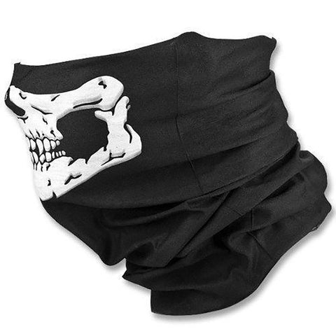 Skull Half Face Mask - US Tactical Warehouse