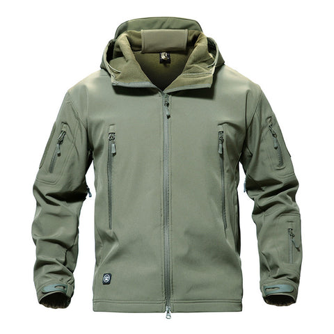 Men's Tactical Waterproof Soft Shell Jacket - US Tactical Warehouse