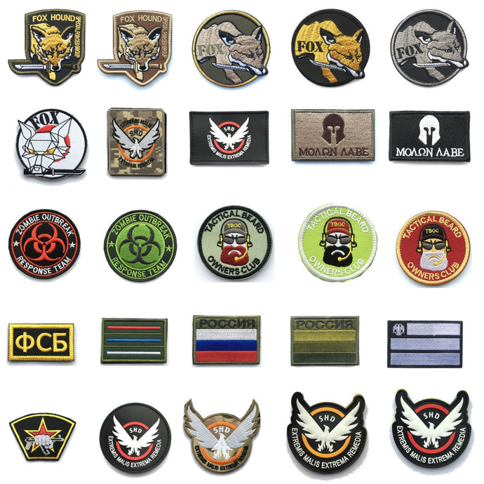 Military  KGB Tactical patches