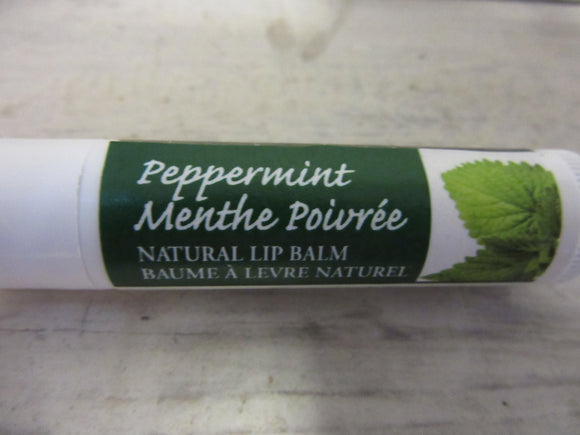 Peppermint Tea tree lip balm