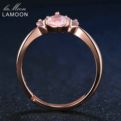 Romantic Rose Gold Ring