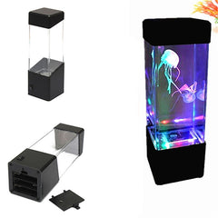 Magical Jellyfish Tropical Aquarium  Led Light