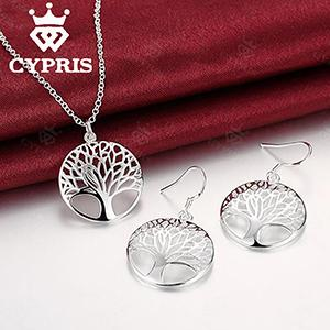 Silver Tree Of Life Jewelry
