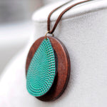 Wooden Vintage Long Handmade Necklaces - Valerian Boutique
