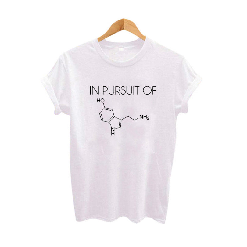 IN PURSUIT OF T-shirt Seratonin Chemistry Graphic Tee - Valerian Boutique