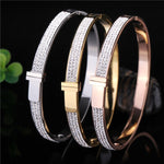 Stainless Steel Open Cuff Bangles - Valerian Boutique