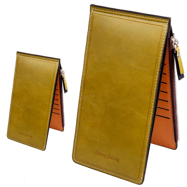 Long Wallets PU Leather clutch bag credit cards Holder wallet - Valerian Boutique
