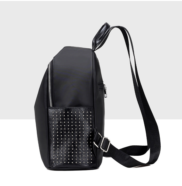 Women Backpacks Waterproof Rivet - Valerian Boutique