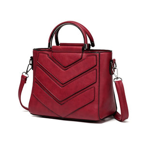 Women PU Leather Handbag  Crossbody Bags - Valerian Boutique