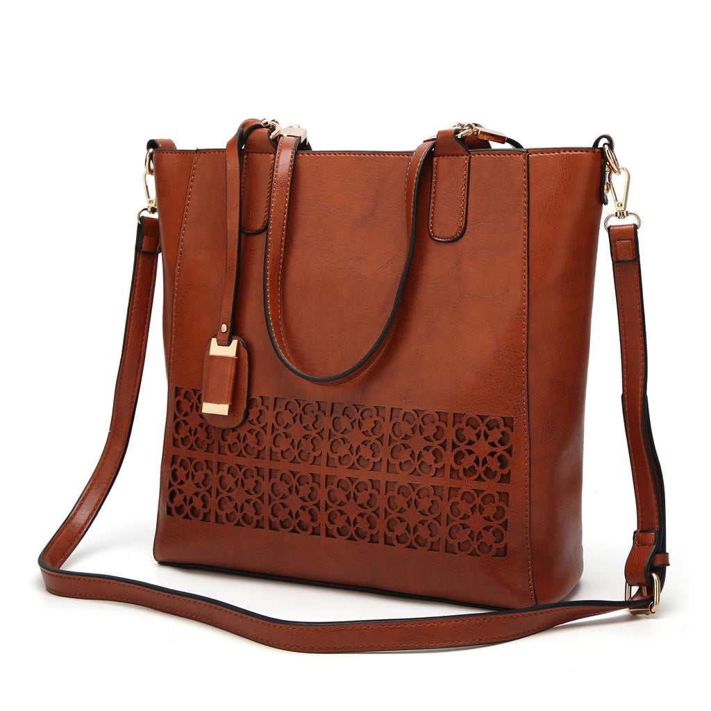 PU Leather Women Shoulder Crossbody Bag - Valerian Boutique
