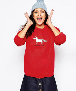Unicorn Print Long Sleeve Sweatshirt/Tee - Valerian Boutique