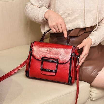 Genuine Leather Crossbody Bags