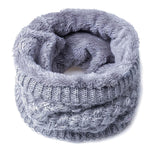 Thickened Wool Collar Neck Warmer Scarf - Valerian Boutique