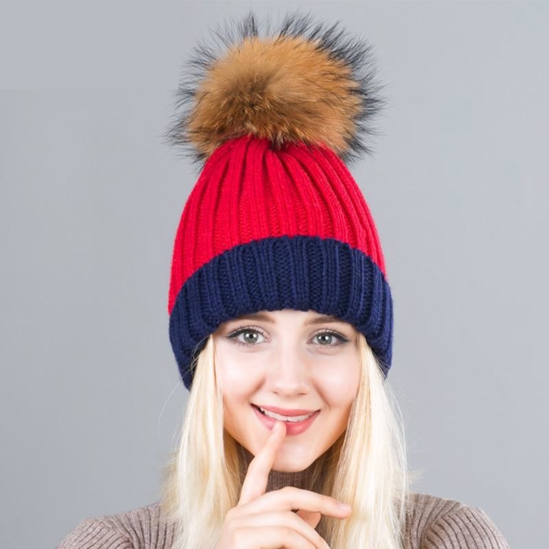 Pompoms Ball Skullie/Beanie - Valerian Boutique