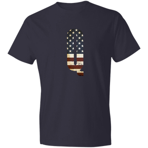Q Anon WWG1WGA USA Tshirt -Lightweight Cotton Tee - Made in USA - Patriotic Source