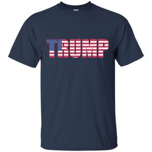 Basic Trump T-Shirt in 100% Cotton - Made in USA - Patriotic Source
