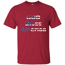 God Bless America Patriotic T-Shirt - Made in USA - Patriotic Source