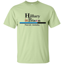 Hillary in Prison T-Shirt - Patriotic Tee with Loading Bar - Patriotic Source