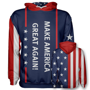 MAGA Hoodie - Make America Great Again - Patriotic Source