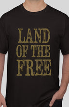 Land of the Free T-Shirt - Liberty Tee Made in USA - Patriotic Source