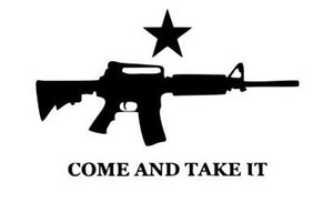 Come and Take it M16 Ar15 Carbine Rifle Gun Flag - Historic Flag - Patriotic Source