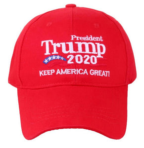 2020 Trump Election Hat in RED - Keep America Great Hat - Patriotic Source