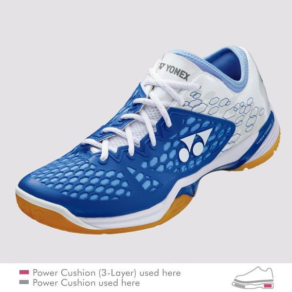 YONEX POWER CUSHION 03Z LADIES COURT SHOES [BLUE]