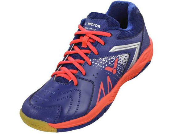VICTOR AS-36W-JO BADMINTON SHOES (PETUNIA/NEON CORAL)